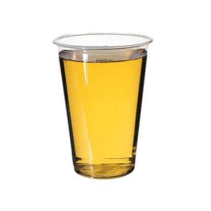 grøn glas