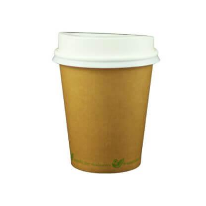 grøn kop med låg