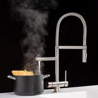 Kogende vand