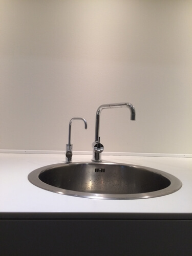 singel tap vask